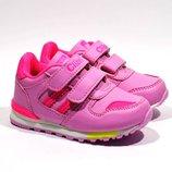 Кроссовки для девочек Clibee F-627 розовый