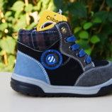 Детская обувь. Детские деми ботинки для мальчика Clibee Р-106