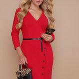 Элегантное платье больших размеров.