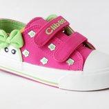 Детская обувь.Кеды для девочек Тм Clibee р.25 -29