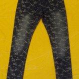 Стрейчевые легинсы лосины джегинсы Grace,рост 116-152 см.
