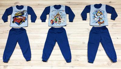 8da599bc134f9 Детская теплая пижама, начес, 86-92р., 92-98р., 110-116р., монстры ...