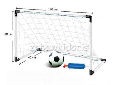 Набор для игры в футбол. Футбольные ворота мяч. Польша. Na