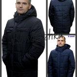 50-62 Зимняя мужская куртка с капюшоном. чоловіча куртка, Мужской пуховик. мужская курточка ботал