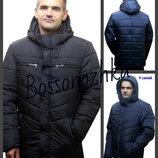 48-62 Зимняя мужская куртка с капюшоном. чоловіча куртка, Мужской пуховик. мужская курточка ботал