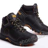 Кожаные зимние ботинки Timberland Pro Series Black M - 129 / 1