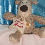 шикарная мягкая игрушка-брелок Собачка Буфи Boofle Англия оригинал 14 см