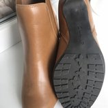 .Ботильоны сапоги clarks кожа ботинки