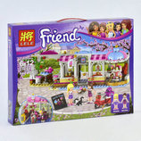 Конструктор Lele Friends Кондитерская 444 детали 37013 аналог LEGO Friends 41119