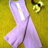 Теплые спортивные штанишки с лампасами.для дома 15 грн
