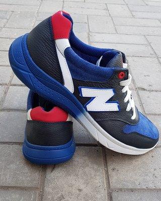Новиночка Стильные кроссовки из натуральной кожи