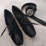 Кожаные,фирменные ботинки-туфли AMALFI by RANGONI