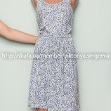 Стильное легкое вискозное платье миди