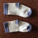6-12 мес носочки в полоску цвета мяты