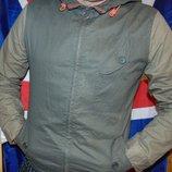 Стильная брендовая курточка хаки River Island .м .