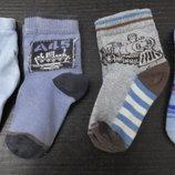 носки детские носочки 4 пары на 3 - 6 - 12 месяцев недорого