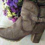 Замшевые ботиночки Manas 40р 26 см