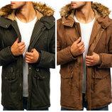 Мужская зимняя куртка парка