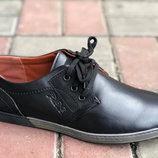 Классные мужские туфли Отличное качество Р-40-45