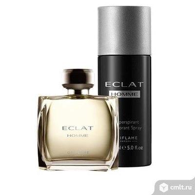 Eclat Homme набор дезодорант и духи 420 грн мужская парфюмерия