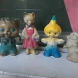 Куклы Ссср резиновые игрушки старинные