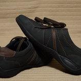 Легкие комбинированные кожаные кроссовки Medicus Deichmann Германия 5.