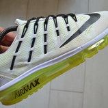 Отличные кроссовки Nike Air Max 2016 White Volt Black