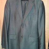 Нарядный деловой классический свадебный костюм пиджак и брюки