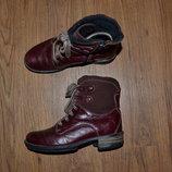 Р. 36 - 23.8 см. Josef Seibel. Ботинки демисезонные, полусапожки. Фирменные, оригинал.