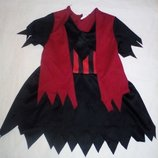 Карнавальное новогоднее платье разбойницы. пирата на 1.5-2года