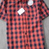 Стильна рубашка F&F 7-8 років