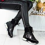 Зимние спортивные ботинки люкс копия