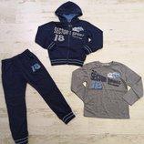 Спортивный костюм-тройка для мальчиков 98-110