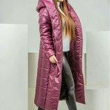 Оригинальное теплое пальто.РАЗМЕР 42-44, 46-48