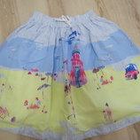 юбка в яркий летний принт Joules 7-8 лет