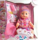 Кукла Пупс Baby Born 8 функций