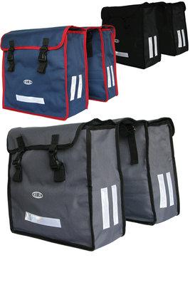 Сумка для велосипеда, сумка на багажник, вело-сумка, ткань Oxford 600D, вместительная, не промокает