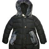 Низкая цена-супер качество Теплые зимние куртки для девочки Венгрия