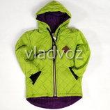 Детская демисезонная куртка для девочки салатовый 3-4 года 4026