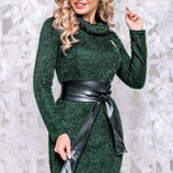 Теплое платье с ангоры 1044