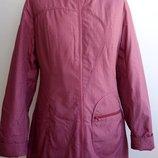 Женская демисезонная удлиненная утепленная куртка pesnija 40, 42, 44, 46, 48, 50