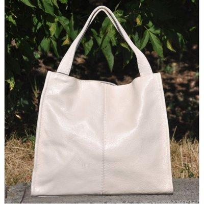 Натуральная кожа Кожаная женская сумка Mesho молочная кремовая беж ... cf1570f79af