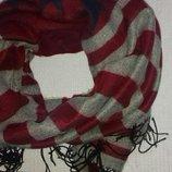 Очень уютный и теплый шарф палантин