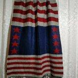 Очень уютный и теплый шарф палантин 70x186