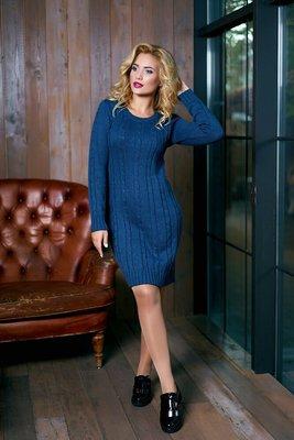 Элегантное женское вязаное платье Кэти 6 цветов