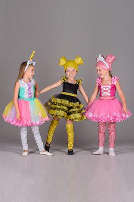 Лялька кукла Лол LOL Єдинорожка, Бджілка, балерина, единорожка Пчелка - Позняки