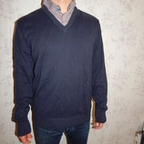 свитер мужской с рубашкой-обманкой стильный модный рL идёт на рXL