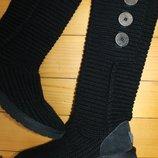 38 разм. Угги вязанные Ugg Australia Длина по внутренней стельке - 24,5 см., ширина подошвы - 10,5