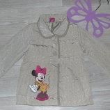 Демисезонная куртка Disney 5-6л в идеальном сост