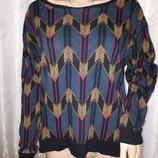 Свитшот женский джемпер свитер кофта h&m м - l - xl